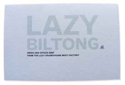 Lazy Biltong